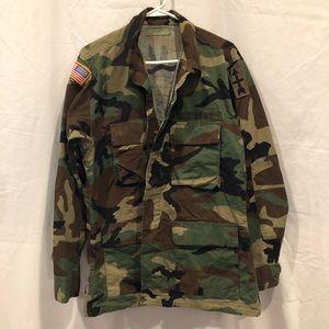 Camo Army Jacket